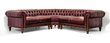 COCOCO Chesterfield Sectional