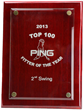 2nd Swing Golf Wins Coveted Ping Golf Club Fitting Award