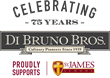 Di Bruno Bros. 75th Anniversary Logo
