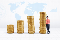 Image credit: <a href='http://www.123rf.com/photo_21164191_marketing-agent-and-rising-gold-coins-chart-on-world-map-background.html'>ximagination / 123RF Stock Photo</a>