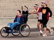 65-year-old California Dad to Run Boston Marathon Pushing Son with...