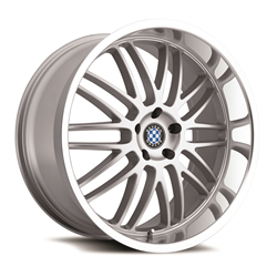 BMW Wheels by Beyern - the Mesh 5 in Silver