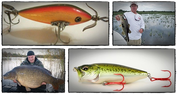 Wood fishing lures for Create your own fish