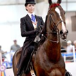 Kara Hachigian riding My One Night Stand / 2013 Overall Winner of the UPHA Ribbons of Service