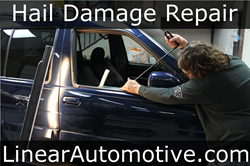 Hail Damage Repair in Denton Texas