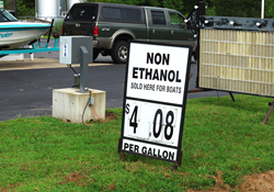 Ethanol and boats don't mix, damaging boat engines and presenting real safety concerns.