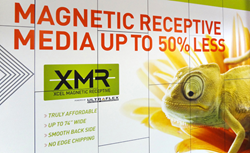 Magnetic Receptive Media up to 50% Less