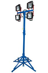 2000 Watt Quadpod Mounted Work Area Flood Light