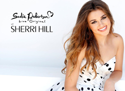 Sadie Robertson in Sherri Hill dress