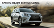 Prestige Lexus to Host Spring-Ready Service Clinic April 8 and 10