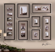 Uttermost Massena Photo Collage 14458 Metal Wall Art
