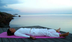 The deep healing relaxation of Yoga