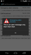 Cell Broadcast message on latest Android version