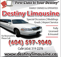 Vancouver  wedding Limo packages, Vancouver Wedding Limo Service, Vancouver Wedding Limousine Service, Vancouver Limo Service, Surrey Limo Service