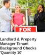 tenant background checks
