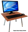 Original Stand Steady desk - Cherry finish $189.99