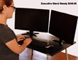 Stand Steady desks are adjustable for height and angle