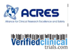 ACRES & Verified Clinical Trials Partner To Promote Clinical Trial...