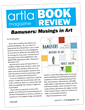 ArtLA book review page showing Bamusers: Musings in Art