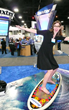 Virtual Surfing at Baxter Medical Trade Show