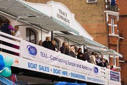 The TEAS banner