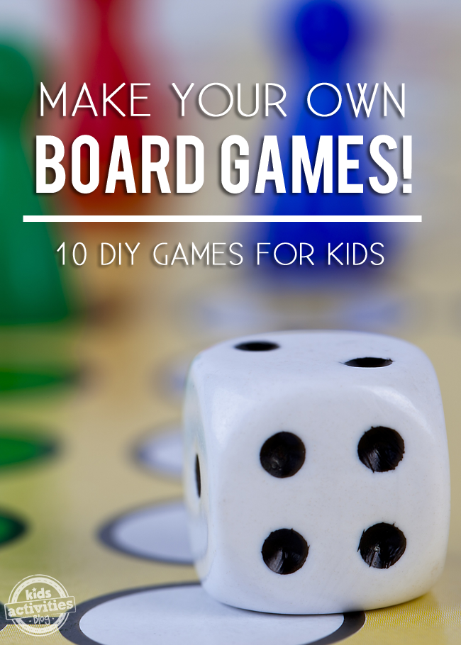 Homemade Board Games Have Been Published On Kids