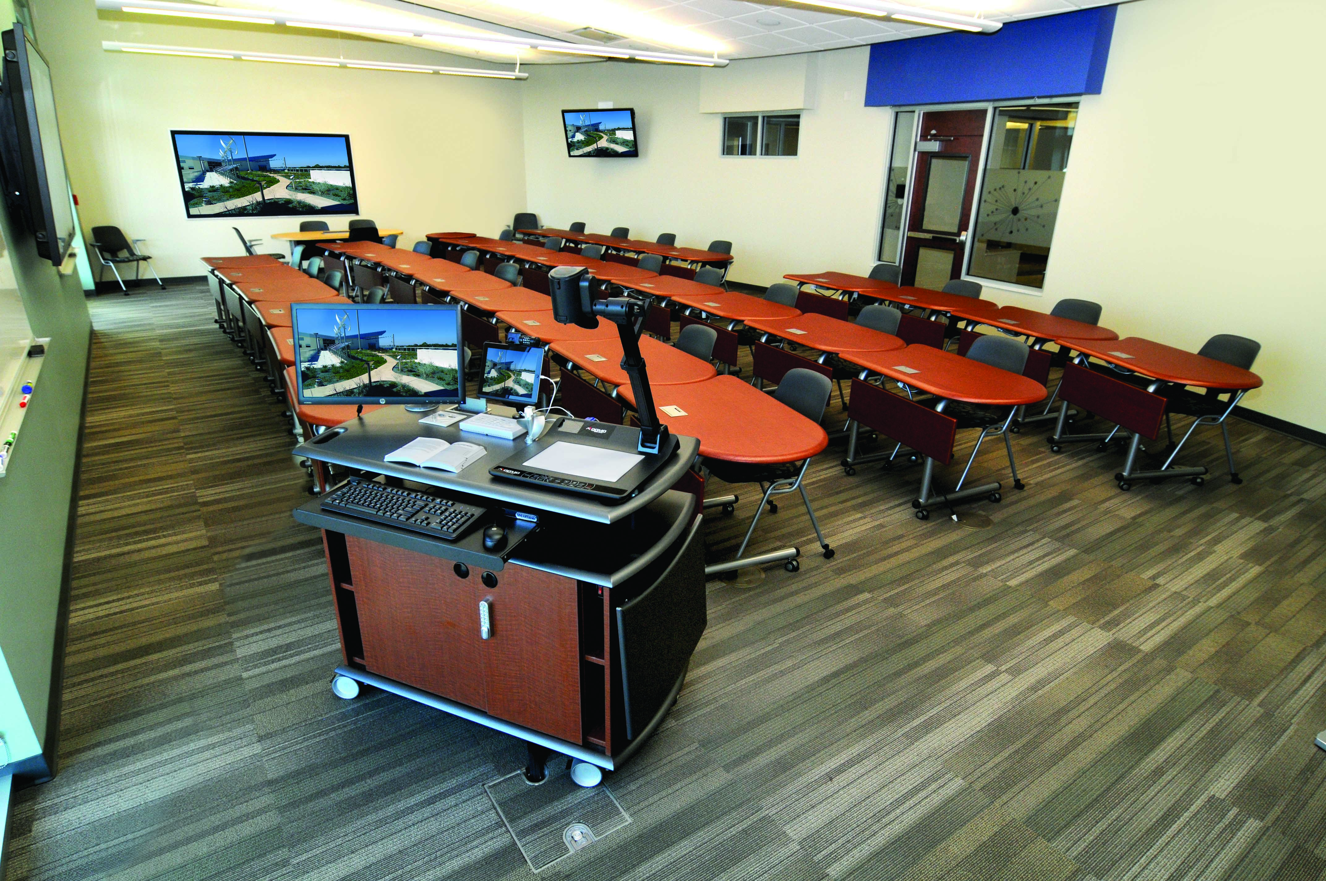 Center For Collaborative Classroom ~ Smartdesks revamps classroom furniture and technology at