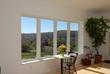 Living Room of Kosmer Solar Home with Simonton Windows.