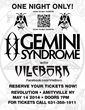 VileBorn Opens for Gemini Syndrome
