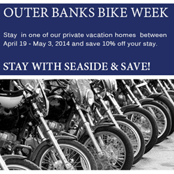 2014 Outer Banks Bike Week Promotion Seaside Vacations