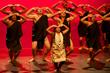 Ho'onani performing with boys hula troupe.