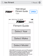 New TSW Fitment Guide APP available on the app store