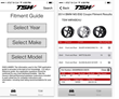 TSW Alloy Wheels Launches Mobile Fitment Guide for Smartphones