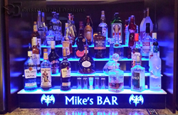 Customized Designs Lighted Bar