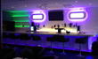 Customized Designs Lighted Bar Shelves