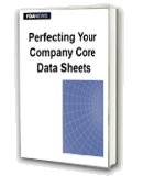 Perfecting Your Company Core Data Sheets