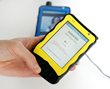 The DURATEQ Assistive Technology Version can be branded and vary in case color