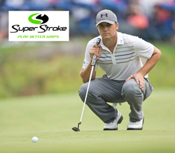 Jordan Spieth plays SuperStroke's Flatso Ultra