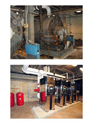 Boiler Room Before and After