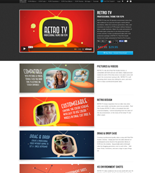 Pixel-Film-Studios, FCPX-Themes, Final-Cut-Pro-X-Templates, Retro-Tv