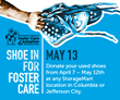 """Shoe In For Foster Care"" Aims for 10,000 Shoes"