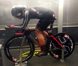 Stradalli Phantom II Carbon Triathlon Bike Air-dynamic Testing