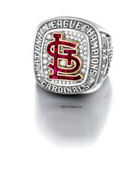 Each exquisite piece was meticulously handcrafted with precious materials to visually tell the story of an historic season for the Cardinals.