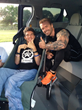 Co-Founder/VP of BPI Sports, James Grage with longtime friend Michael Sayih, a quadriplegic from Cerebral Palsy
