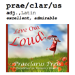 Praeclarus Press, a Small Press Specializing in Women's Health,...