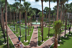 Stetson University Palm Court