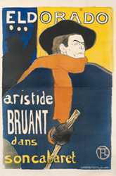 French, 1894, Lithograph 39 x 59 inches