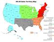IIG Sales Territory Map US