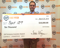 SPOT 127 SVP Arizona Investee Award 2014