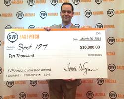 SPOT 127 SVP Arizona Investee Award 2014
